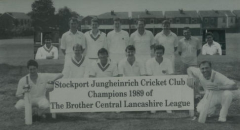 Stockport Cricket Club banner image 6