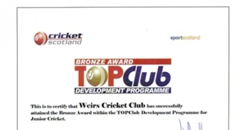 Weirs Cricket Club banner image 2