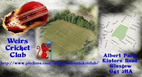 Weirs Cricket Club banner image 3
