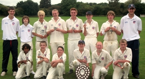 Hambrook Cricket Club Youth Section banner image 4