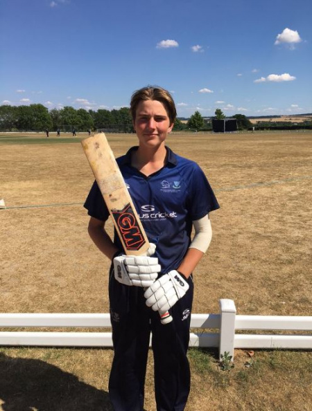 Oxfordshire Cricket Board - News - James Coles Selected for
