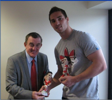 Mid Wales District Rugby Union - News - George North ...
