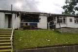 Fire Ravages Alsager Buildings