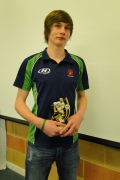 U16 Player of the year 2012 image