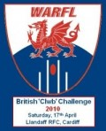 Kick off times for British Clwb Challenge image