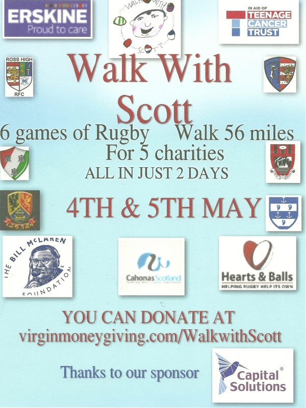 Walk with Scott Event Sat 4th May image