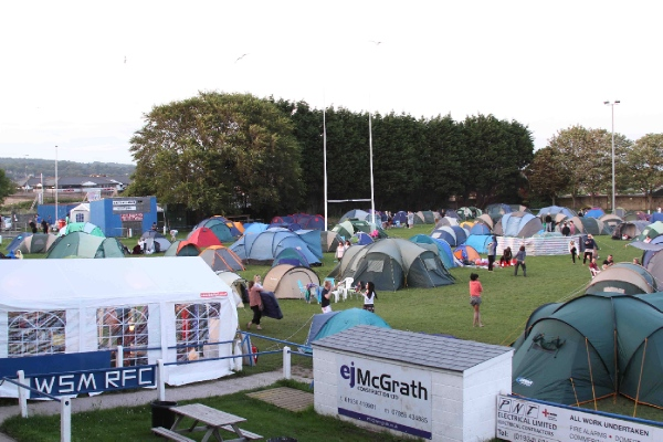 T4 On The Beach 2012 Camping News Weston Super Mare Rfc