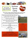 Astley Summer Sports Camp