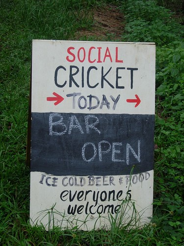 Friday Nights are Social Cricket nights image