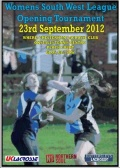 Womens South West league opening Tourament 2012/13 season image