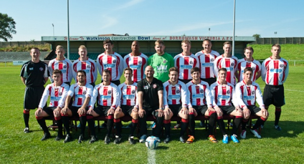 Left to right back row. Wayne Thornhill(assistant manager)Danny Roberts,Jamie Pawley,Paul Campbell,Emeka Ejiofor,Steve Smith,James De Reus,Andrew Mottershead,Luke Garton,Dave Leigh,Michael Thorpe