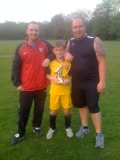 Under 10 Red Player of the month - April 2013 still