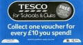 TESCO VOUCHERS image