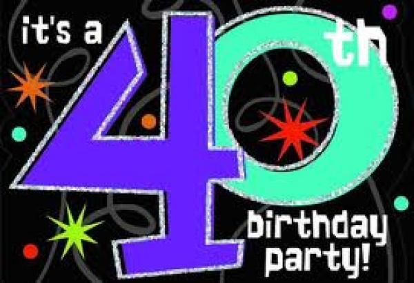 40th Birthday Party Camborne RFC