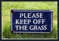 Keep Off The Grass !!!