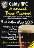 Caldy RFC Beer Festival Tickets