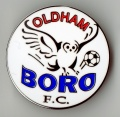 Oldham Boro Pin badge