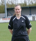 Jenny Pullen  F A Carleberg Referee of Year From Barton still
