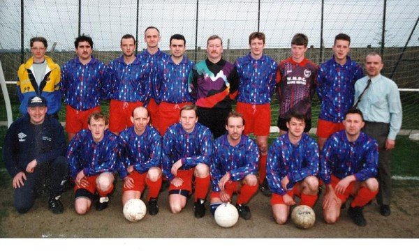 Fieldhead Hospital Cup Winning Side C1980s