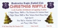 The Great DRFC Chrismas Raffle WINNERS! image