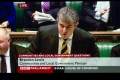 Brandon Lewis MP wears the Bloaters Tie in the House of Commons still