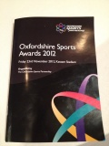 Oxfordshire sports partnership awards 2012  still