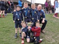 MRFC under 7s at Telford still