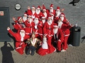 Copsewood Diamonds take part in Santa Dash in memory of Gillies Mum. still