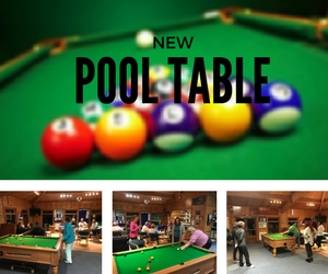 Lovely New Pool Table In The Clubhouse! ↧ Show More ↥ Show Less