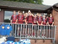 Mold U15s Plate Winners at the Inaugural North East Wales Junior Sevens Tournament at Ruthin RFC