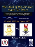 United Services Vs Devonport Services This Friday Night KO 1830