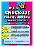 ITS A KNOCKOUT- Sat 28th JULY 12pm to 6pm image