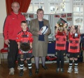 U8s Ambassadors at Town Hall image