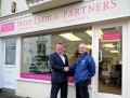 Proud sponsors Peter Lynn Solicitors open new premises. image