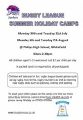 Bury Broncos Summer Camps image