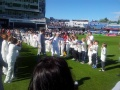 The Olympic Torch at Headingley still