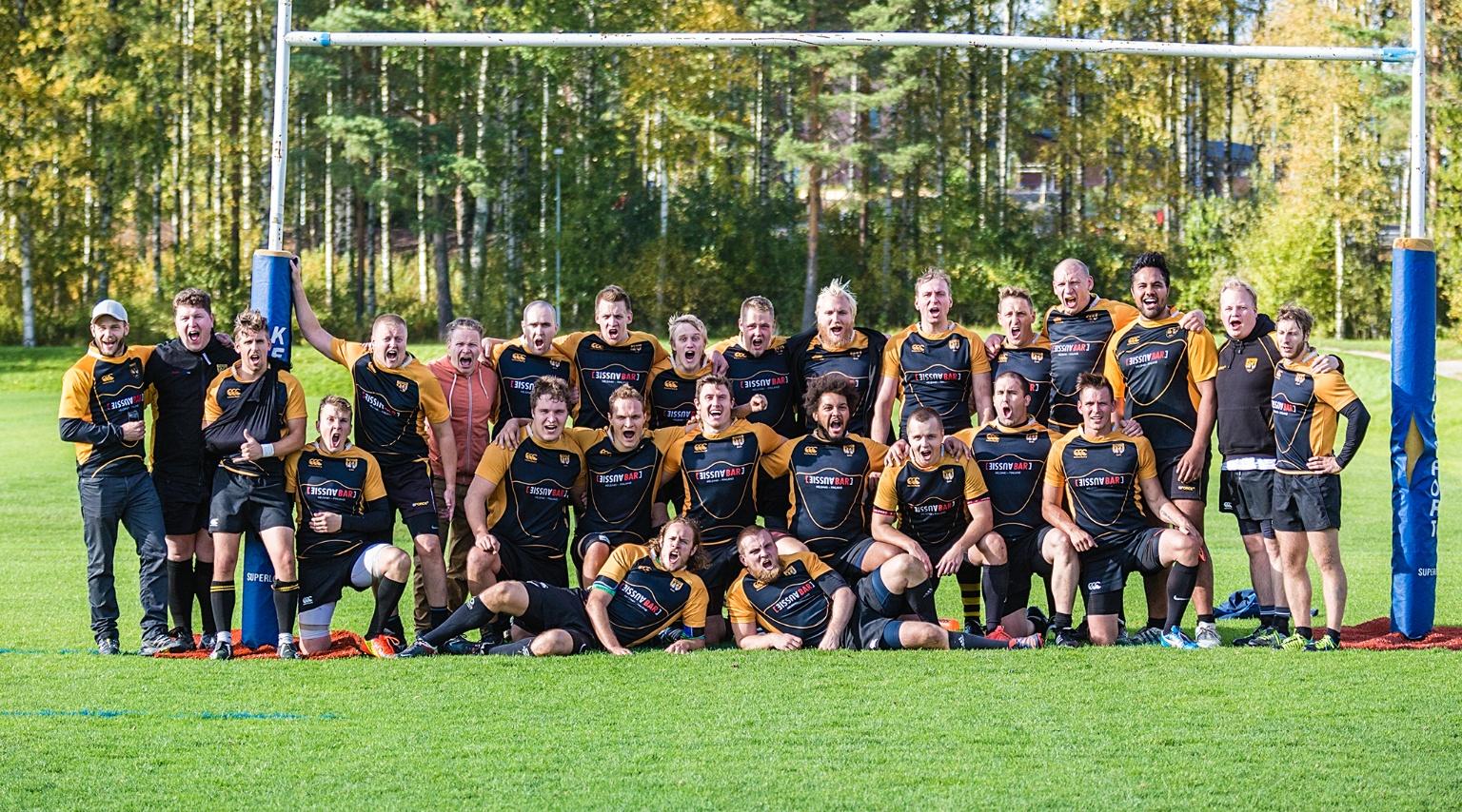Kuopio Rugby 7 vs. 50 WRC - 9 September 2017 - WRC Men - WARRIORS ... 795590111e
