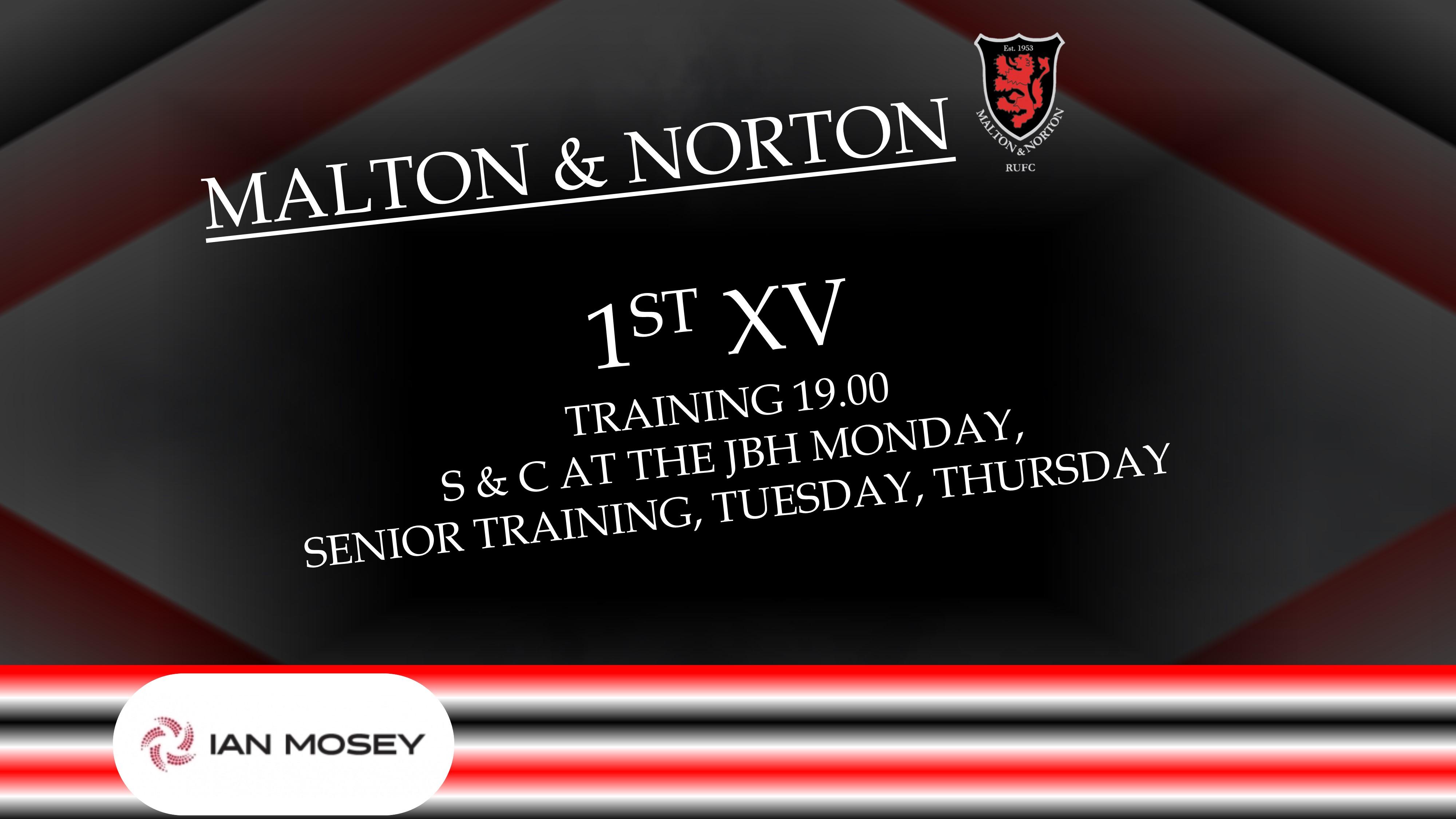 Durham City 18 Vs 20 Malton And Norton 25 March 2017 1st Xv