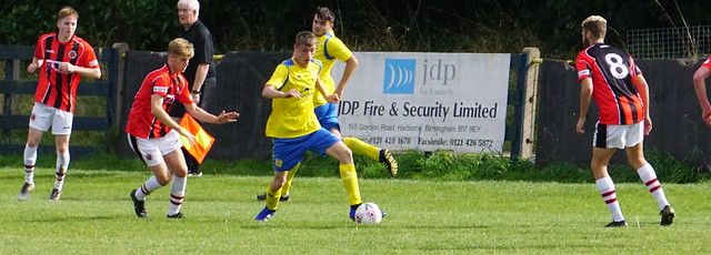 Cory Rudd vs Tividale (A) photo courtesy of Mathew Mason
