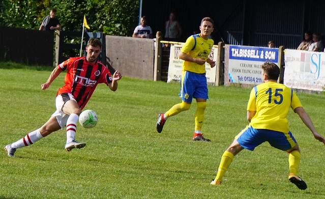 Bradley Burgess vs Tividale (A) photo courtesy of Mathew Mason