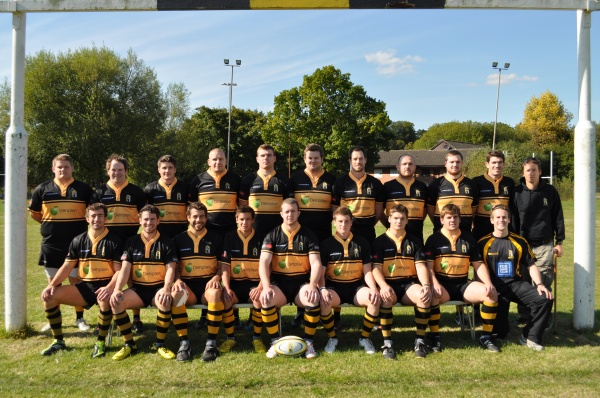 Back Row: Tom Williams Ollie Rogers, Angus Adamson, Campbell Ettinger, Matt Gibson, Danny Waite, James Durman, Ben O'Reilly, Matt Lown, Tom Pervin, Andy Fields (Head Coach)