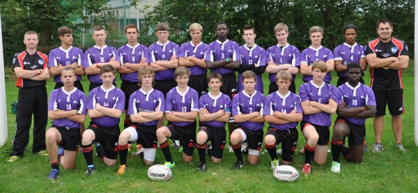 Dragons 14s Help Make History in Yorkshire image