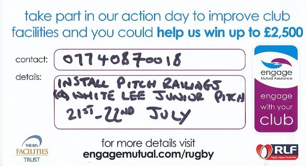 BIRSTALL VICTORIA TAKE PART IN THE ENGAGE WITH YOUR CLUB INITIATIVE image