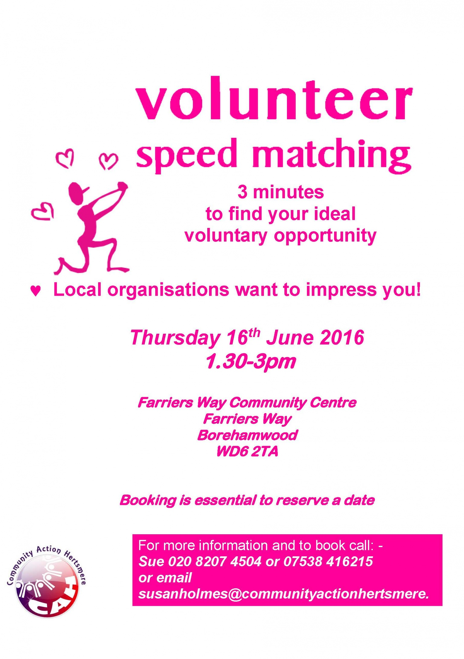 Speed dating events herts