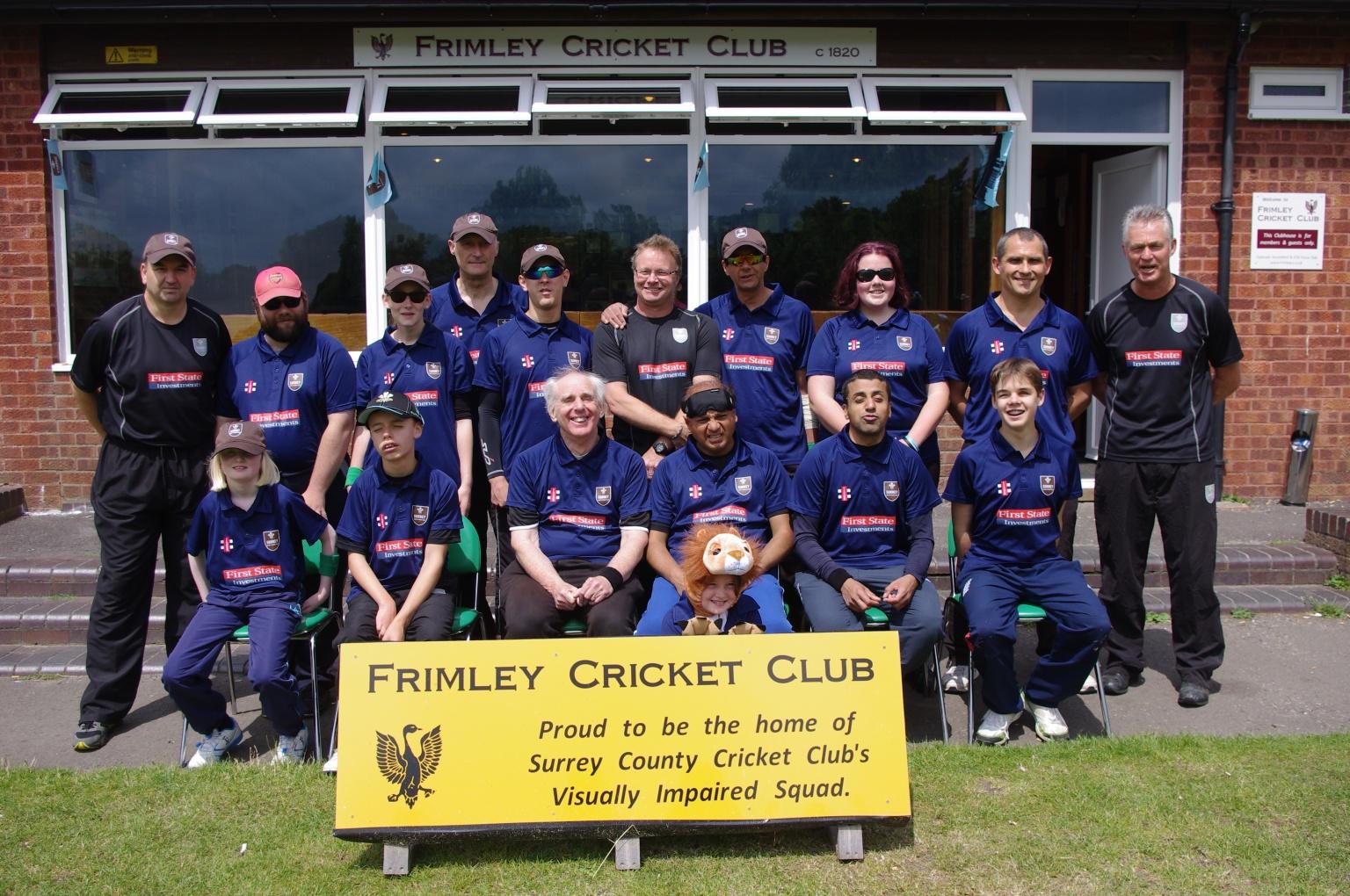 Disability Surrey Vi Cricket County Vi Squad