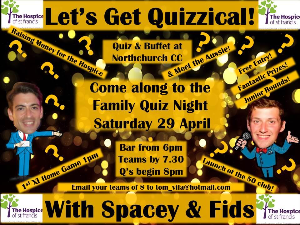 Club Quiz Night And Meet The Aussie Northchurch Cricket Club