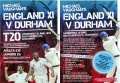 See Harmy, Flintoff and Vaughan play against Durham Dynamos at South North Cricket Club