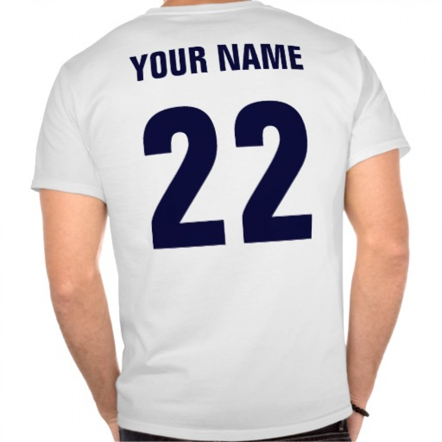 Image: Shirt or Sweater Name & Number