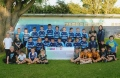 Hull Wyke youngsters showing off the cheque. image