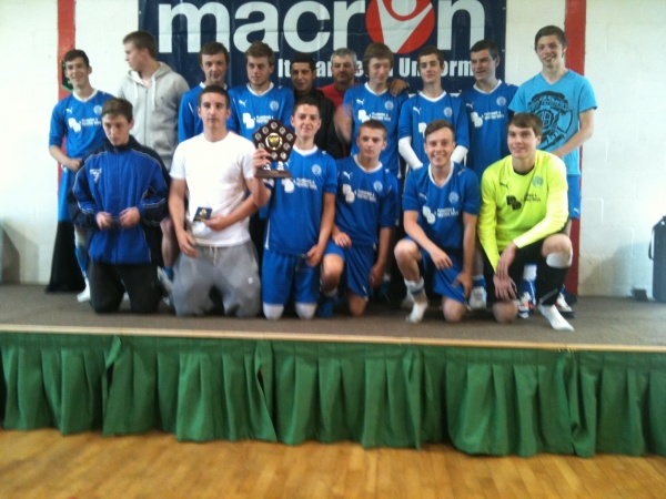 Broxbourne Borough U17s League Shield Winners 2010/11